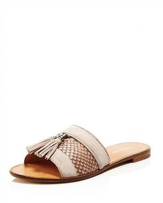 POUR LA VICTOIRE Lake Genuine Snakeskin Slide Sandal (Women).  #pourlavictoire #shoes #sandals | Pour La Victoire | Pinterest | Slide  sandals, Sandals and ...