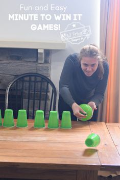 Kid Friendly Easy Minute To Win It Games for Your Party | Kid Friendly Things To Do