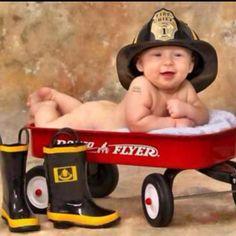 Baby firefighter ;)