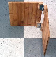 そろそろソロキャン!:自作 ワンタッチ竹テーブル