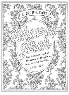names of jesus coloring page - free christian coloring pages for adults roundup girls