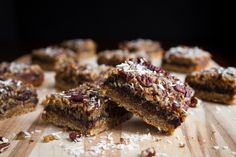 Lightened Up Magical Coconut Bars at Oh She Glows