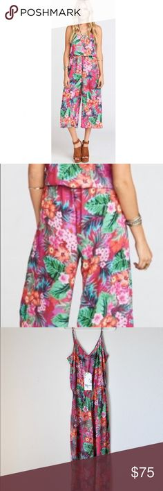 27cf2277712325 Margaux Playsuit (NWT) Super cute and summery romper playsuit. Legs are  loose