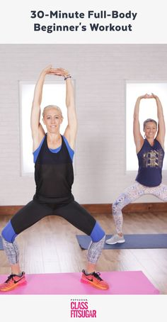 Easy Yoga Workout - Tone Your Entire Body With This Workout — Its Perfect For Beginners Get your sexiest body ever without,crunches,cardio,or ever setting foot in a gym Beginner Full Body Workout, Total Body Toning, Workout For Beginners, Beginner Pilates, Beginner Workouts, Pilates Video, Strength Training For Beginners, Strength Training Workouts, Toning Workouts
