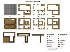 Minecraft floorplan small farmhouse by ColtCoyote on deviantART: