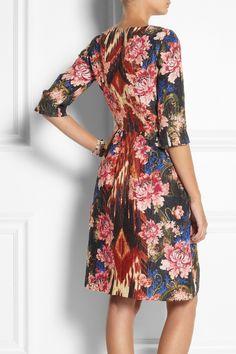 Oscar de la Renta Silk-blend jacquard dress NET-A-PORTER.COM