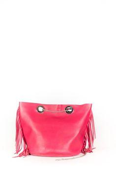 Seau Sac Pink Bucket Leather Framboise Bag xIZ1w