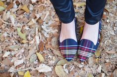 No fall wardrobe is complete without a few plaid favorites, and shoes are such an easy way to incorporate the trend into your fashion rotation. In deep hues of navy, hunter green, and red, there's just something about plaid that makes you think about brisk autumn weather, falling leaves, and apple picking (even if you're stuck in an office only dreaming about the crisp air outside!) If you're the type to get a little monochrome in autumn, printed flats are an easy (and comfortable!) way to…
