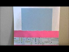 12-months of scrapbook layouts