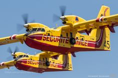Canadair CL-415 by vgiusiano