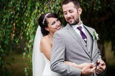Backyard rustic wedding.