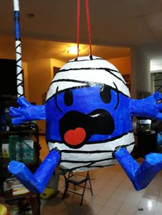 Mr Bum Pinata - Mr Men birthday party