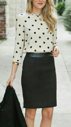 classy style for work. Like how the top tucks in well without being awkward.