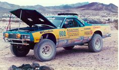 Chevy El Camino 4x4 racer for Baja 2000 race