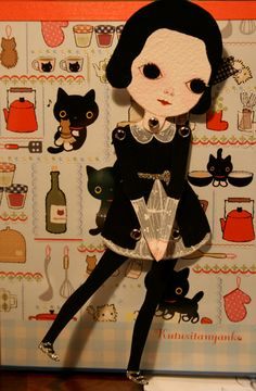 Paper dolls by Amy Earles