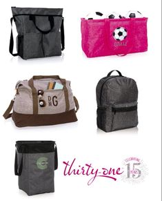 Thirty One Personalized bags Great personalized gift Thirty One Party 35568a3e38921