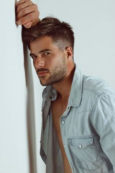 Hot Guys and Their Hairstyles • favhob: mensfashionworld: Francisco Perez...