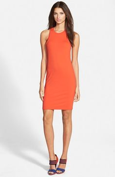Love the cut and simplicity of this tank dress. Leith