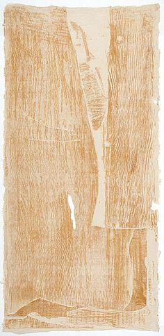 Helen Frankenthaler - Essence Mulberry - woodcut  Essence mulberry 1977