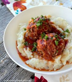 Serve Classic Porcupine Meatballs over mashed potatoes, rice or even in a toasted bun for a twist on a meatball sub!