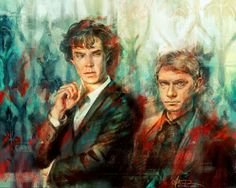 About Sherlock: A Collection of Sherlock Art from X. Zhang