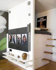 Small studio, small space