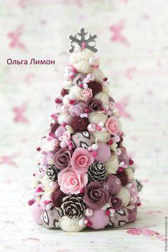 """Купить Елочка """"Марун""""! - фуксия, малиновый, бордовый, елка, новогодний подарок, новый год 2016"""