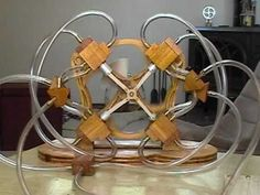 Radial Air Engine. Practical (and not terribly anachronistic) power source for Steampunk projects.