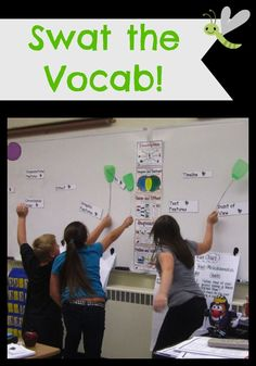 A fun and easy vocabulary game to play with your students!You can find Vocabulary games and more on our website.A fun and easy vocabulary game to play with your students! Vocabulary Strategies, Academic Vocabulary, Teaching Vocabulary, Vocabulary Building, Vocabulary Words, Teaching Spanish, Teaching Reading, Teaching English, Spanish Vocabulary