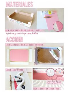 Dianthusa in English: Upcycling a strawberry box Diy Craft Projects, Diy And Crafts, Projects To Try, Strawberry Box, Fruit Box, Old Boxes, Craft Room Storage, Wood Crates, Diy Box