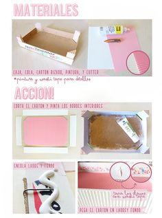 Caja de fresas reciclada by DIY & accessories (Dianthusa)