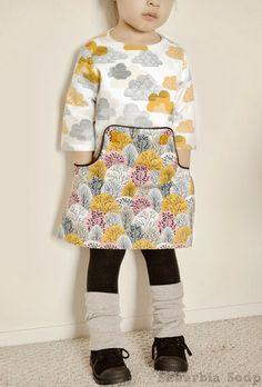 Louisa Dress Pattern by Compagnie M