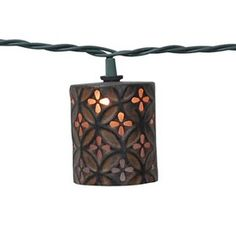 Threshold UL 10ct Indoor/Outdoor String Light, Grapevine Ball Cover