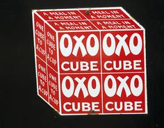 Oxo Cube - A Meal in a Moment - Enamel Signs at Beamish Museum by Beamish Museum, via Flickr