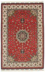 Tapis Tabriz 70 Raj chaîne de soie VEXN37