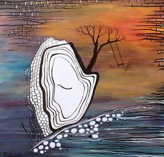 "Saatchi Art Artist Esra Kizir Gokcen; Painting, ""Memory"" #art"
