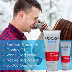 MODRN MAN Acne Treatment Kit For Men Premium Salicylic Acid Men's Face Wash & Shaving Cream Ultimate AllinOne Oil Control Men's Face Moisturizer with SPF. For additional information, visit picture web link. (This is an affiliate link). Overnight Acne Remedies, Pimples Overnight, Acne Face Wash, How To Get Rid Of Pimples, Oil Control, Clogged Pores, Moisturizer With Spf, Salicylic Acid, Shaving Cream