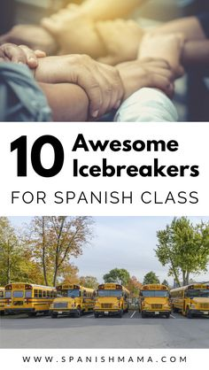 Get your Spanish class off on the right foot with these low-key and fun icebreakers for teens and kids. Icebreaker Activities, Vocabulary Activities, Fun Icebreakers, Preschool Worksheets, Activity Games, Preschool Crafts, Learning Activities, Spanish Teacher, Spanish Classroom