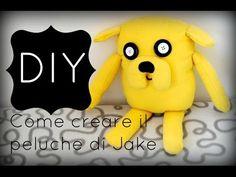 DIY❤ Tutorial come creare il peluche di Jake❤ How to make a Jake plushie