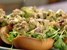 Grilled Tuna Rolls recipe from Ina Garten via Food Network