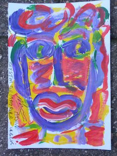 """""""A Face in the Crowd"""" By Royston du Maurier-Lebek"""