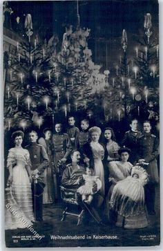 "Vintage  ""German Christmas Tree"" Photo."