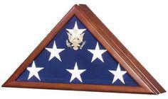 Urns Northwest  - Presidential Military Flag Case, $219.00 (http://urnsnw.com/presidential-military-flag-case/)