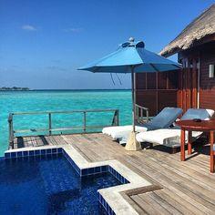 Anantara Dhigu Resort & Spa, Maldives Places To Travel, Places To Visit, Resort Spa, Maldives, Exotic, To Go, Patio, Outdoor Decor, The Maldives