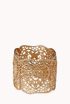 Regal Filigree Bracelet | FOREVER 21 - 1000051310