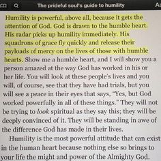From The Prideful Soul's Guide to Humility.