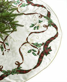Lenox Table Linens, Holiday Nouveau Collection