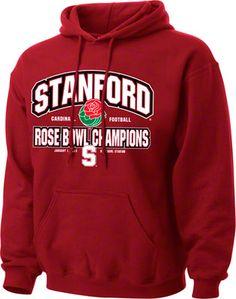 Stanford Cardinal 2013 Rose Bowl Champions Hooded Sweatshirt
