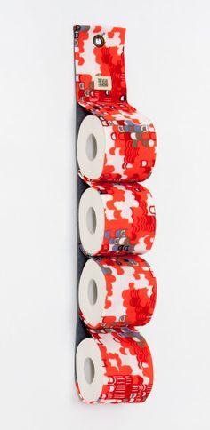 toilet paper holder RoLLLand / toilet tissue holder by FrauKakau, €22.00