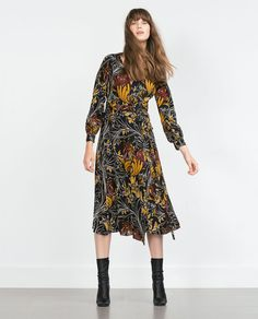 Image 1 of PRINTED DRESS from Zara @sisibrewer NEED